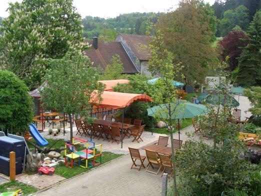 Hof-Cafe Kunst im Garten